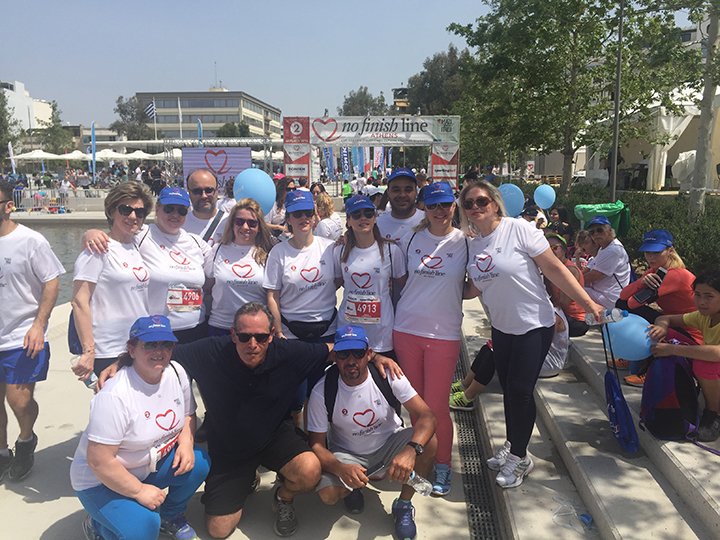 "Participation of the Company in the ""No Finish Line"" charity race"